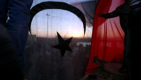Libyjská vlajka - Sputnik Česká republika