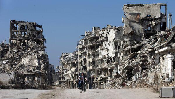 Homs, Sýrie - Sputnik Česká republika