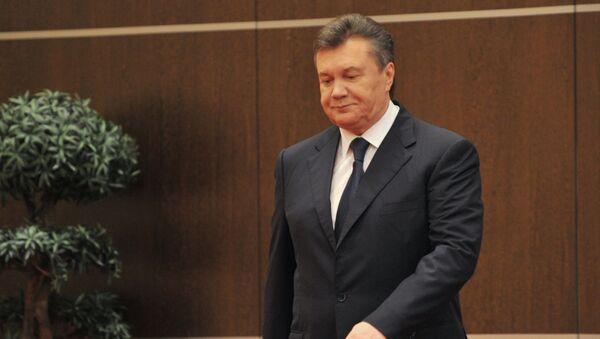 Viktor Janukovyč - Sputnik Česká republika