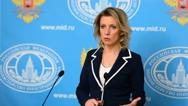 Mluvčí ruského ministerstva zahraničních věcí Maria Zacharorová - Sputnik Česká republika