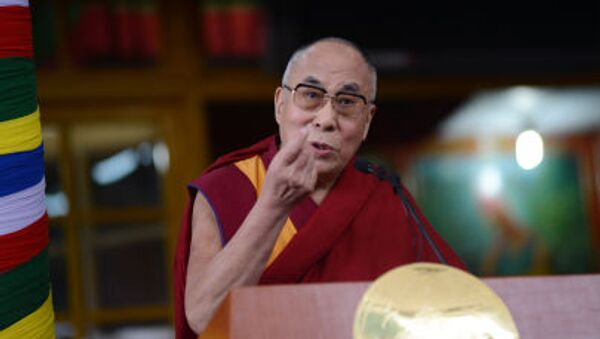 Duchovní vůdce Tibeťanů dalajláma - Sputnik Česká republika