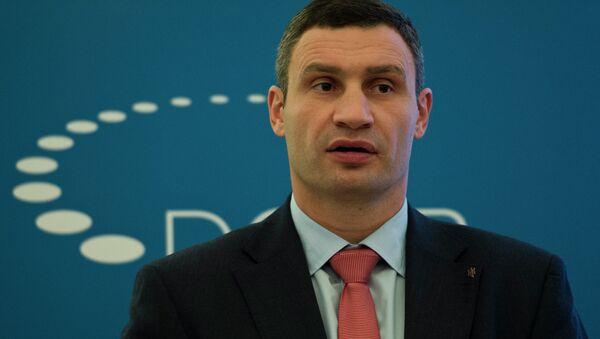 Kyjevský starosta Vitalij Kličko - Sputnik Česká republika