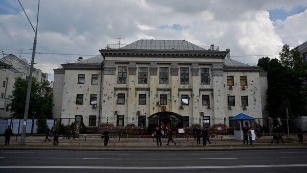 Budova ruského velvyslanectví v Kyjevě - Sputnik Česká republika