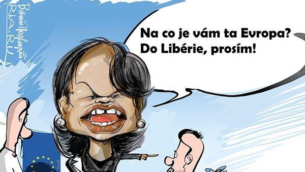 Do Libérie, prosím! - Sputnik Česká republika