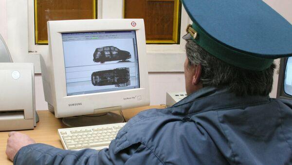 Kontrolní stanoviště na ukrajinsko-ruské hranici. Archivní foto - Sputnik Česká republika