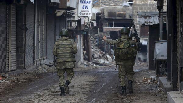 Turečtí vojáci, Diyarbakir - Sputnik Česká republika