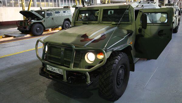 Opancéřovaný automobil Tigr - Sputnik Česká republika