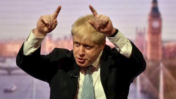 Starosta Londýna Boris Johnson - Sputnik Česká republika
