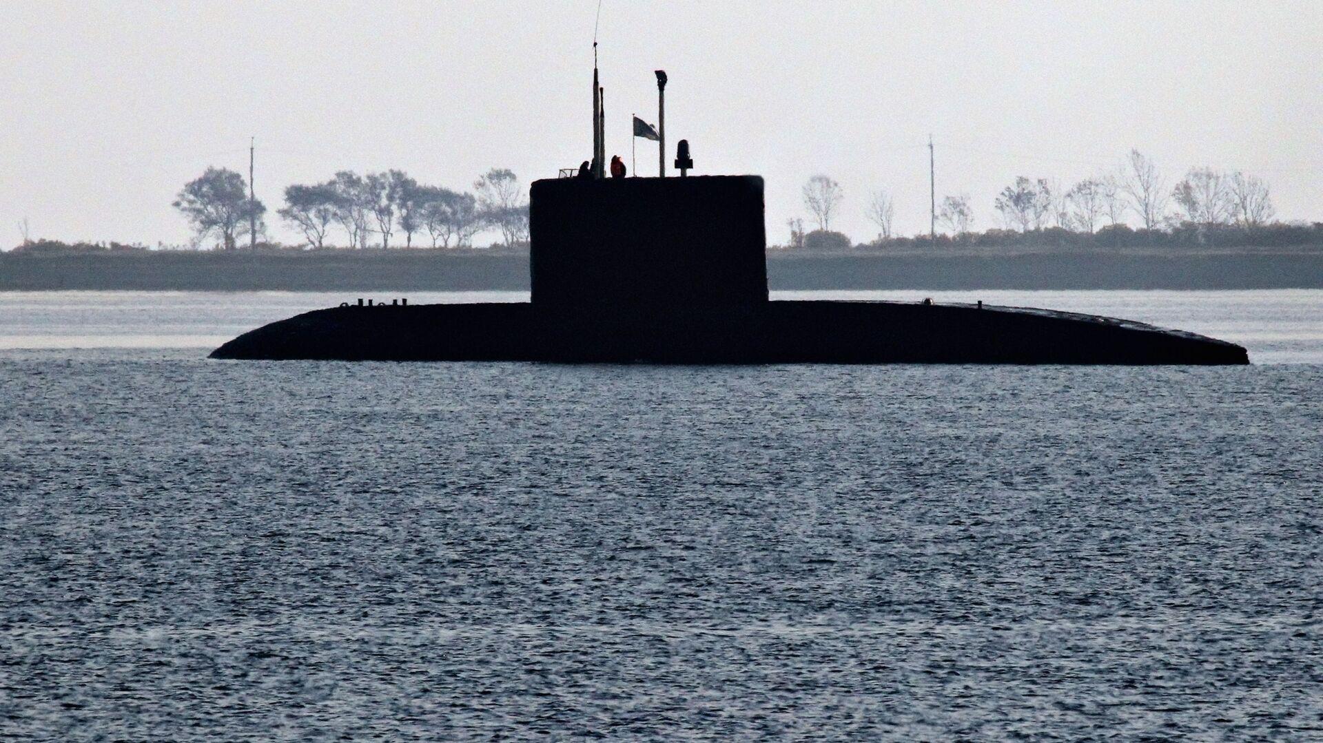 Ruská ponorka třídy Kilo - Sputnik Česká republika, 1920, 10.07.2021