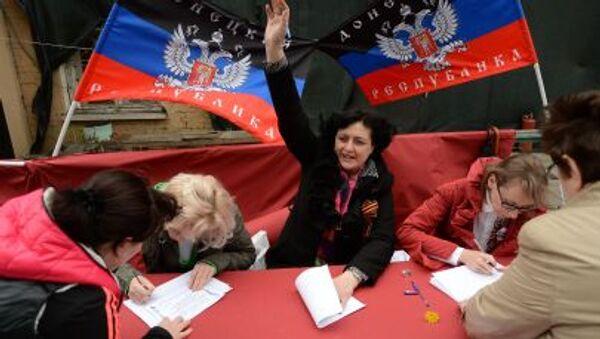 Referendum v DLR. Archivní foto - Sputnik Česká republika