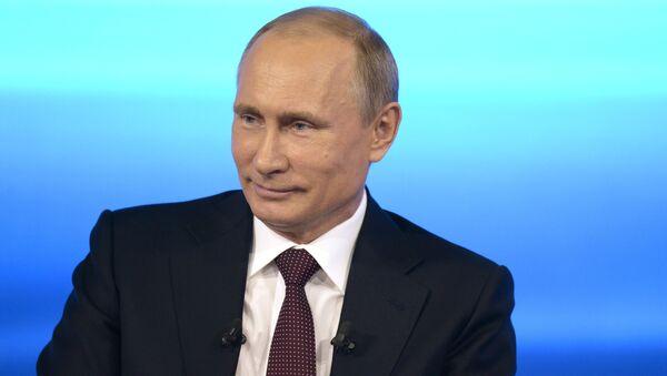 Přímá linka s Vladimírem Putinem - Sputnik Česká republika