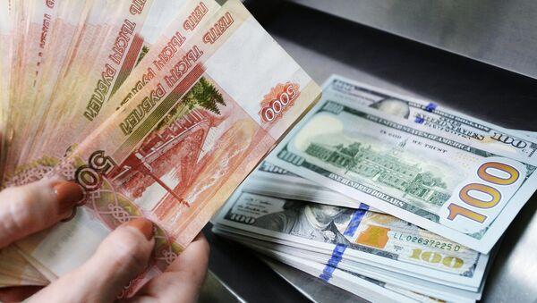 Rubly a dolary - Sputnik Česká republika