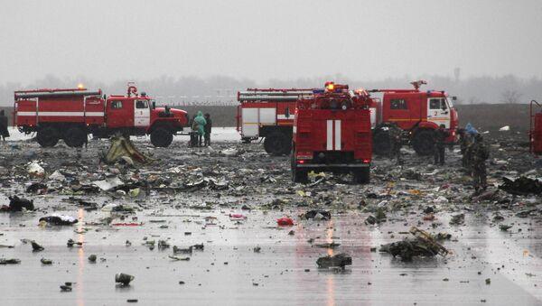 Místo havárie Boeingu 737-800 - Sputnik Česká republika