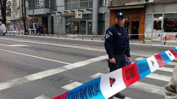 Výbuch v centru Bělehradu - Sputnik Česká republika