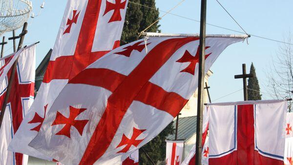 Gruzínská vlajka - Sputnik Česká republika