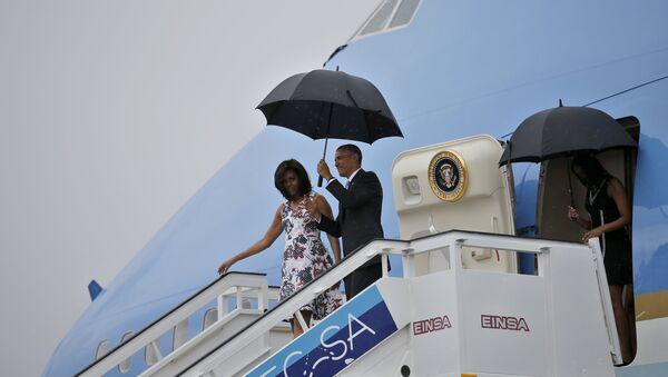 Barack Obama s manželkou - Sputnik Česká republika