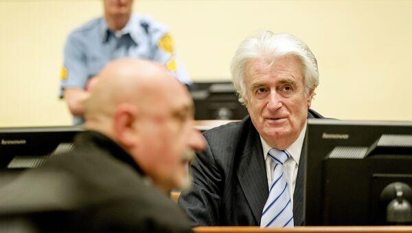 Bývalý lídr bosenských Srbů Radovan Karadžič - Sputnik Česká republika