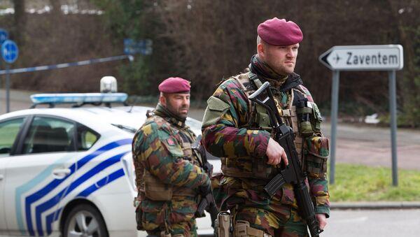 Vojáci na bruselském letišti - Sputnik Česká republika