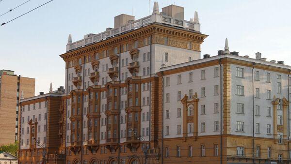 Budova velvyslanectví USA  v Moskvě - Sputnik Česká republika