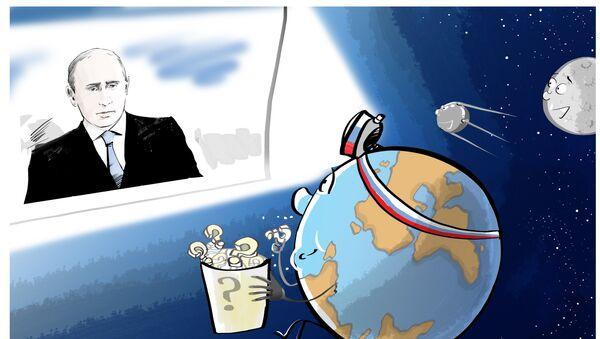 Přímá linka s Putinem - Sputnik Česká republika