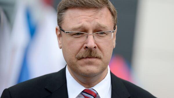 Konstantin Kosačev - Sputnik Česká republika