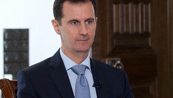 Bašár Asad - Sputnik Česká republika