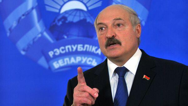 Prezident Běloruska Alexandr Lukašenko - Sputnik Česká republika