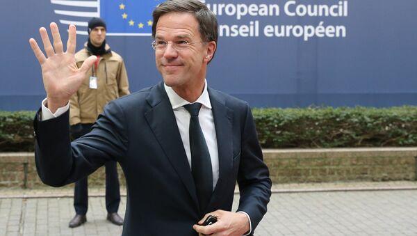 Nizozemský premiér Mark Rutte - Sputnik Česká republika