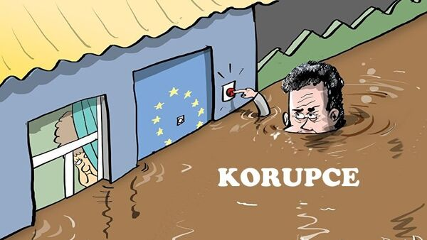 Až po uši v korupci - Sputnik Česká republika
