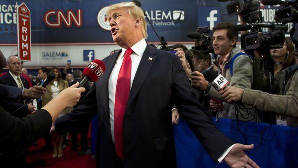 Kandidát na prezidenta USA, republikán Donald Trump - Sputnik Česká republika