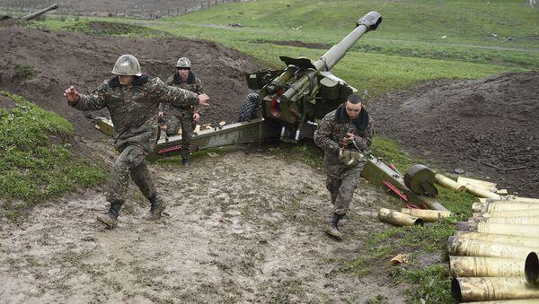 V pásmu karabašského konfliktu - Sputnik Česká republika