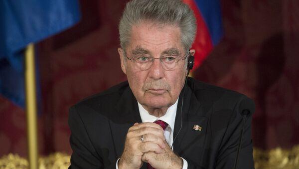Rakouský prezident Heinz Fischer - Sputnik Česká republika