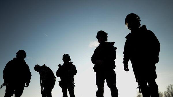 Vojáci ruských speciálních jednotek - Sputnik Česká republika