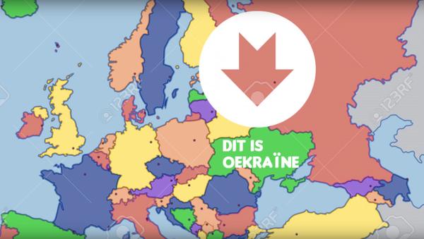 Účastníci nizozemského referenda nedokázali najít Ukrajinu na mapě - Sputnik Česká republika