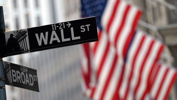 Wall Street - Sputnik Česká republika