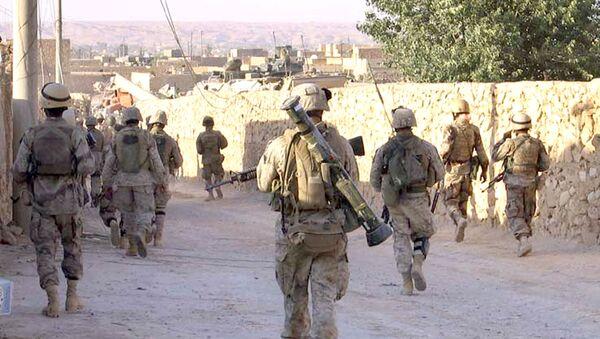 Američtí vojíci na irácko-syrské hranici - Sputnik Česká republika