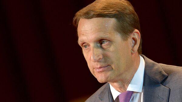 Předseda Státní dumy Sergej Naryškin - Sputnik Česká republika