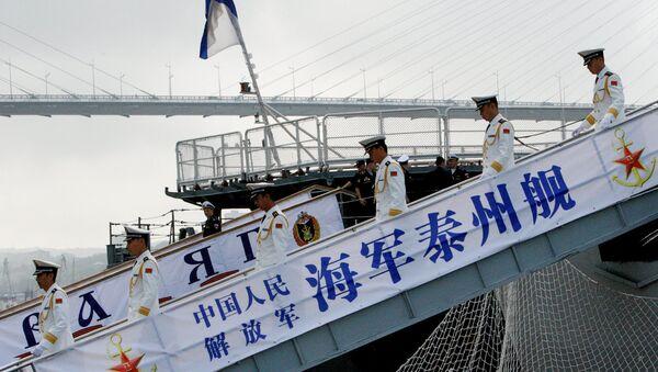 Uvítání čínských lodí ve Vladivostoku - Sputnik Česká republika