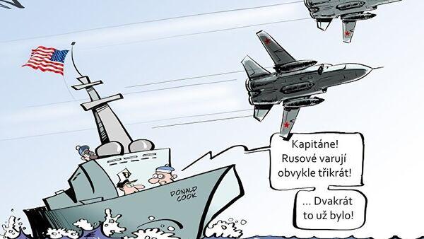 Nebezbečný průlet - Sputnik Česká republika
