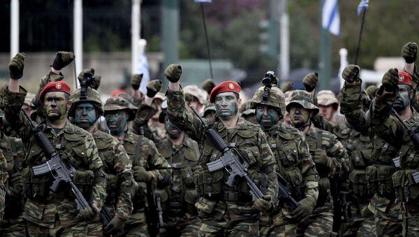 Řečtí vojáci - Sputnik Česká republika