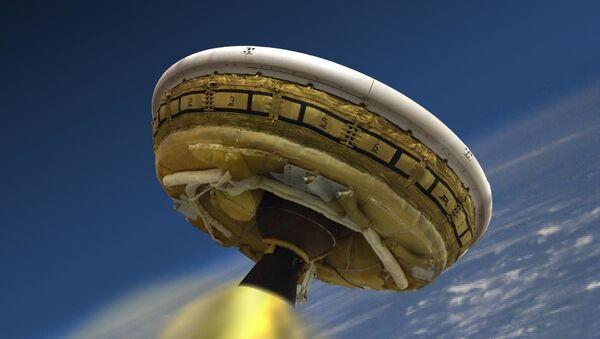 To, jak by mohlo vypadat přistání aparátu LDSD na Marsu - Sputnik Česká republika