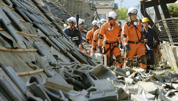 Zemětřesení v Japonsku - Sputnik Česká republika
