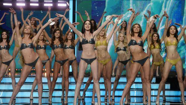 Účastnice soutěže krásy Miss Rusko 2016 - Sputnik Česká republika