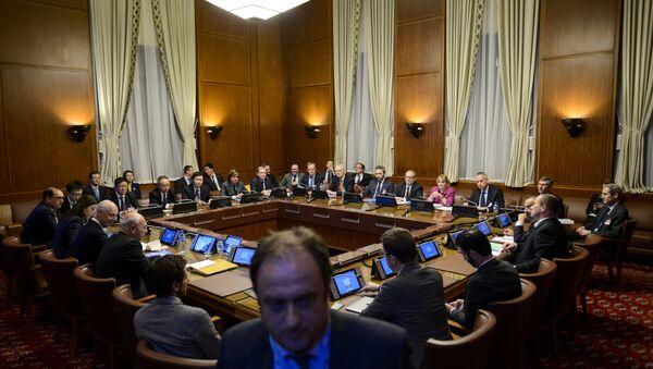 Mezisyrská jednání v Ženevě - Sputnik Česká republika