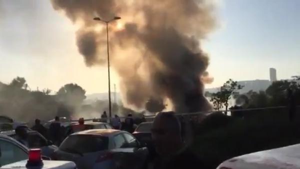 Exploze v autobusu v Jeruzalému - Sputnik Česká republika