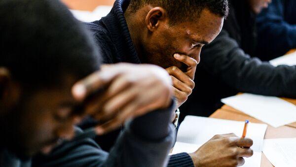 Černošští studenti. Ilustrační foto - Sputnik Česká republika