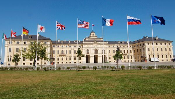 Vlajky G8 - Sputnik Česká republika
