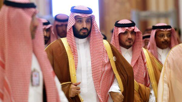 Saúdský princ Mohamed bin Salmán - Sputnik Česká republika