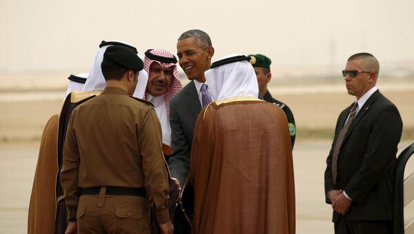 Barack Obama v Rijádu - Sputnik Česká republika