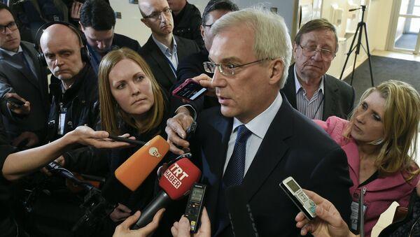 Stálý ruský zástupce při NATO Alexandr Gruško - Sputnik Česká republika